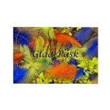 Glad Pask Rectangle Magnet (100 pack)