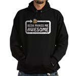 Beer Makes Me Awesome Hoodie (dark)