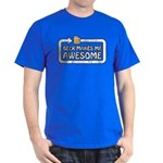 Beer Makes Me Awesome Dark T-Shirt