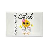 Speech Therapy Chick Rectangle Magnet (100 pack)