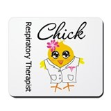 Respiratory Therapist Chick Mousepad