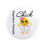 "Respiratory Therapist Chick 3.5"" Button (100 pack)"