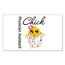 Physician Assistant Chick Decal
