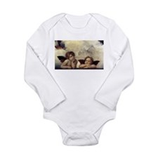 Raphael's Angels Long Sleeve Infant Bodysuit