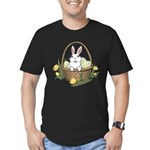 Easter Bunny Men's Fitted T-Shirt (dark)