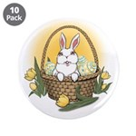 "Easter Bunny 3.5"" Button (10 pack)"