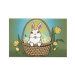 Easter Bunny Rectangle Magnet (100 pack)