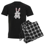 Easter Bunny Men's Dark Pajamas