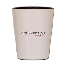 Bad Artilleryman Shot Glass