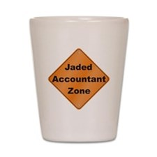 Jaded Accountant Shot Glass
