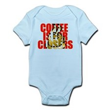 Coffee is for Closers Red Infant Bodysuit