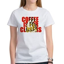 Coffee is for Closers Red Tee