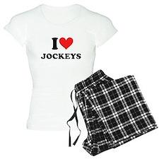 I Heart Jockeys: Pajamas