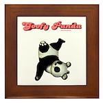 Goofy Panda Framed Tile