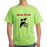 Goofy Panda Green T-Shirt