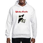 Goofy Panda Hooded Sweatshirt