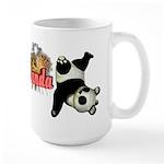Goofy Panda Large Mug