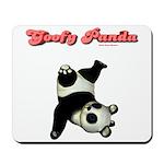 Goofy Panda Mousepad