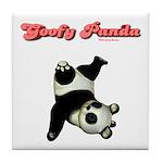 Goofy Panda Tile Coaster