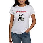 Goofy Panda Women's T-Shirt