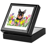 German Shepherd Keepsake Box Kayla