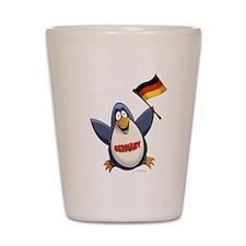 Germany Penguin Shot Glass