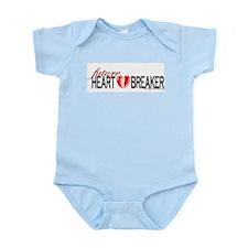 """future heart breaker"" Infant Creeper"