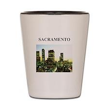 SACRAMENTO Shot Glass
