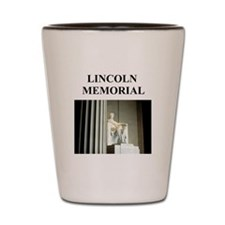 lincoln memorial washington g Shot Glass