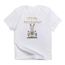 Boy Bunny 1st Easter Infant T-Shirt