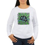 Arcturas Women's Long Sleeve T-Shirt + back print