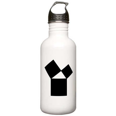47th Problem of Euclid Stainless Water Bottle 1.0L