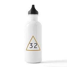 32 in triangle Water Bottle