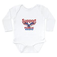 Public Radio Long Sleeve Infant Bodysuit