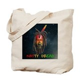 Natty Dread Rastaman Tote Bag