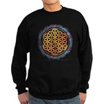 Sweatshirt (dark) - The Flower Of Life
