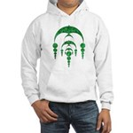 Hooded Sweatshirt - Crop Circle