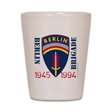 Official BerlinBrigade.com Shot Glass