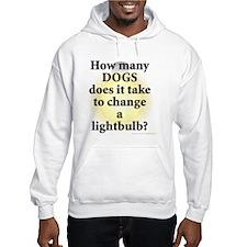 Dogs Change Lightbulb Hoodie