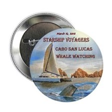 """Starship Voyagers_Whale Watching - 2.25"""" Button (1"""