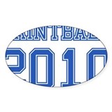 &quot;Paintball 2010&quot; Bumper Stickers