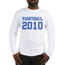 """Paintball 2010"" Long Sleeve T-Shirt"