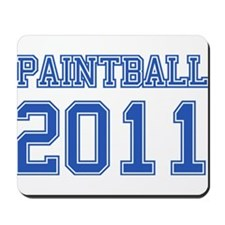 """Paintball 2011"" Mousepad"