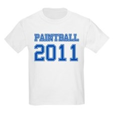 """Paintball 2011"" T-Shirt"