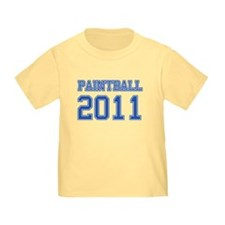 """Paintball 2011"" T"