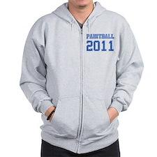 """""""Paintball 2011"""" Zip Hoodie"""