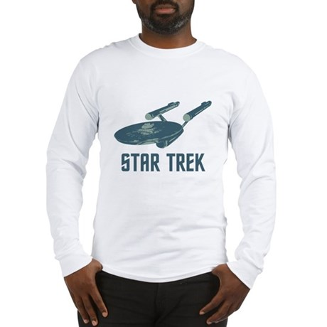 Retro Enterprise Long Sleeve T-Shirt