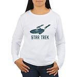 Retro Enterprise Women's Long Sleeve T-Shirt