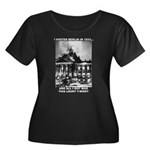 Berlin 1933 Women's Plus Size Scoop Neck Dark T-Sh