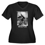 Berlin 1933 Women's Plus Size V-Neck Dark T-Shirt